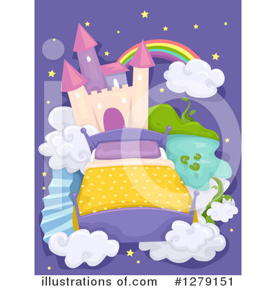 Royalty-Free (RF) Dream Clipart Illustration by BNP Design Studio - Stock Sample #1279151