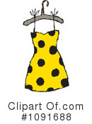 Royalty-Free (RF) Dress Clipart Illustration #1091688