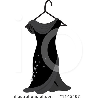 Royalty-Free (RF) Dress Clipart Illustration by Rosie Piter - Stock Sample #1145467