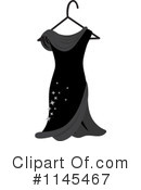 Royalty-Free (RF) Dress Clipart Illustration #1145467
