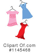 Royalty-Free (RF) Dress Clipart Illustration #1145468
