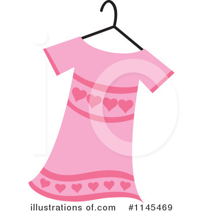 Dress Clipart #1145469 by Rosie Piter