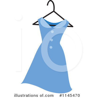 Dress Clipart #1145470 by Rosie Piter