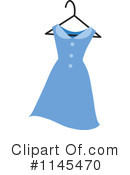 Royalty-Free (RF) Dress Clipart Illustration #1145470