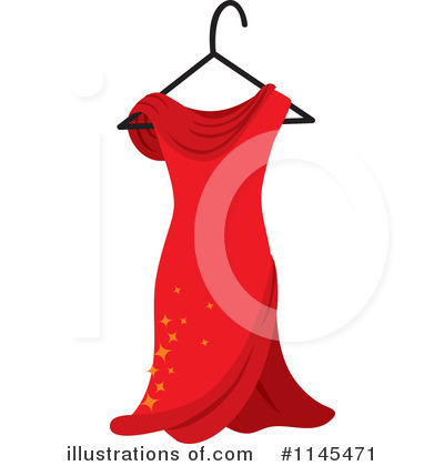 Dress Clipart #1145471 by Rosie Piter