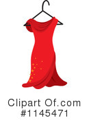 Royalty-Free (RF) Dress Clipart Illustration #1145471