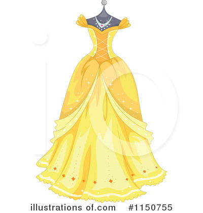 Royalty-Free (RF) Dress Clipart Illustration by BNP Design Studio - Stock Sample #1150755