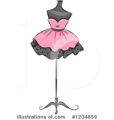 Mannequin Clipart #1234859 by BNP Design Studio