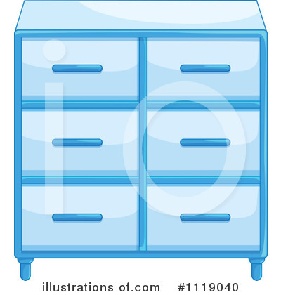 Cabinet Clipart #1119040 by Graphics RF
