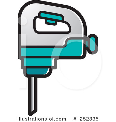 Royalty-Free (RF) Drill Clipart Illustration by Lal Perera - Stock Sample #1252335