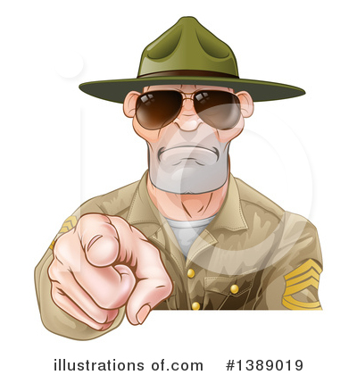 Soldier Clipart #1389019 by AtStockIllustration