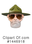 Drill Sergeant Clipart #1446918 by AtStockIllustration