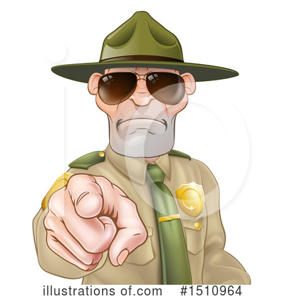 Drill Sergeant Clipart #1510964 by AtStockIllustration