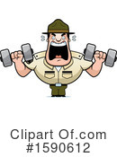 Drill Sergeant Clipart #1590612 by Cory Thoman