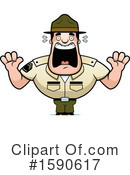 Drill Sergeant Clipart #1590617 by Cory Thoman