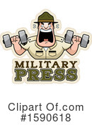 Drill Sergeant Clipart #1590618 by Cory Thoman