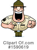 Drill Sergeant Clipart #1590619 by Cory Thoman