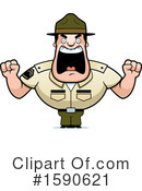 Drill Sergeant Clipart #1590621 by Cory Thoman