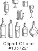 Drink Clipart #1367221 by Vector Tradition SM