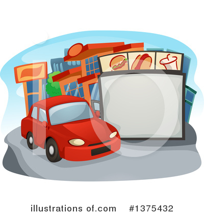 Fast Food Clipart #1375432 by BNP Design Studio