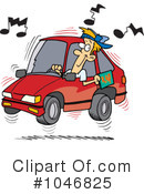 Royalty-Free (RF) Driver Clipart Illustration #1046825