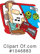 Royalty-Free (RF) Driver Clipart Illustration #1046883