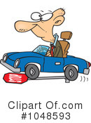 Royalty-Free (RF) driver Clipart Illustration #1048593