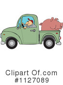 Royalty-Free (RF) driver Clipart Illustration #1127089