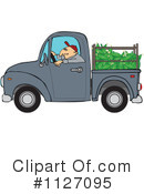Royalty-Free (RF) driver Clipart Illustration #1127095