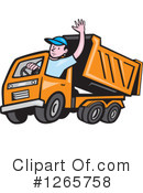 Royalty-Free (RF) Driver Clipart Illustration #1265758