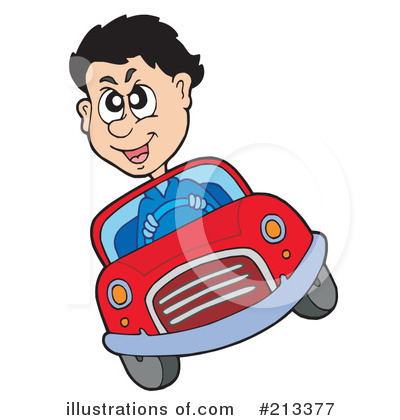 Driving Clipart #213377 by visekart