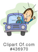 Royalty-Free (RF) Driver Clipart Illustration #436970