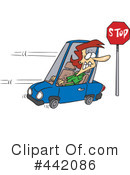 Royalty-Free (RF) Driver Clipart Illustration #442086