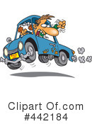 Royalty-Free (RF) Driver Clipart Illustration #442184