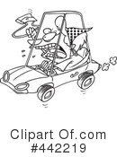 Driver Clipart #442219 by toonaday