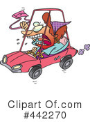 Driver Clipart #442270 by toonaday