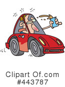 Driver Clipart #443787 by toonaday