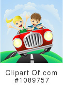 Royalty-Free (RF) Driving Clipart Illustration #1089757
