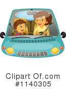 Royalty-Free (RF) Driving Clipart Illustration #1140305