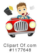 Driving Clipart #1177648 by AtStockIllustration