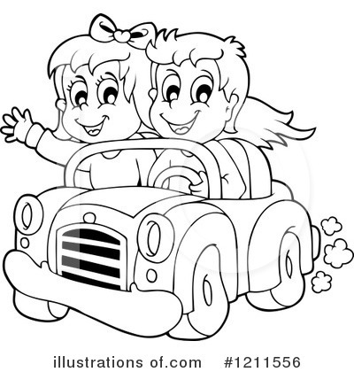 Driving Clipart #1211556 by visekart