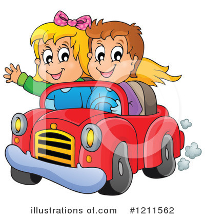Driving Clipart #1211562 by visekart