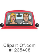 Driving Clipart #1235408 by David Rey