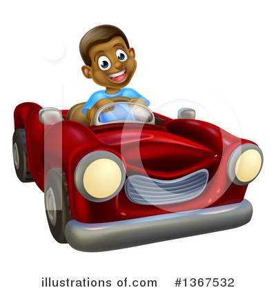 Driving Clipart #1367532 by AtStockIllustration