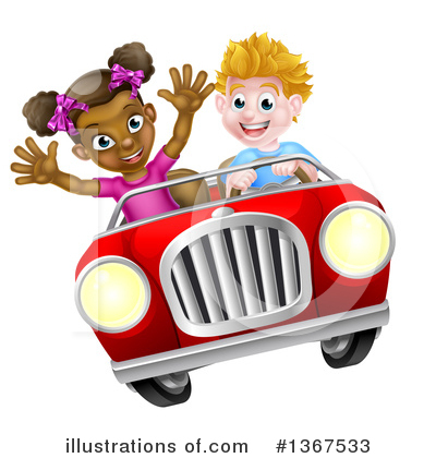 Children Clipart #1367533 by AtStockIllustration