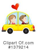 Royalty-Free (RF) Driving Clipart Illustration #1379214