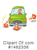 Royalty-Free (RF) Driving Clipart Illustration #1462338