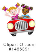 Driving Clipart #1466391 by AtStockIllustration