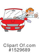 Driving Clipart #1529689 by Johnny Sajem