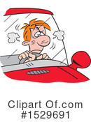Driving Clipart #1529691 by Johnny Sajem